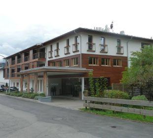 Hotel Ostseite mit Blick auf das Nebelhorn Hotel Exquisit