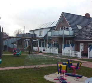 Gartenanlage Ferienhaus Wattkuckuck