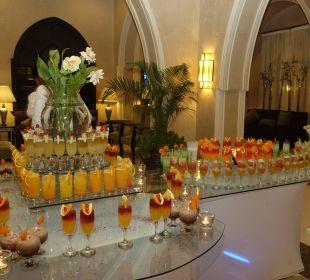 Cocktail in der Lobby