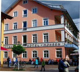 Hotel Mohren, Seitenansicht Hotel Mohren