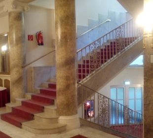 Die elegante Treppe Hotel Panhans