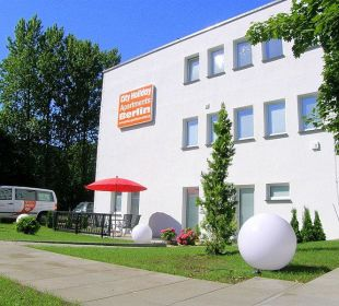 Aussenansicht  City Holiday Apartments Berlin