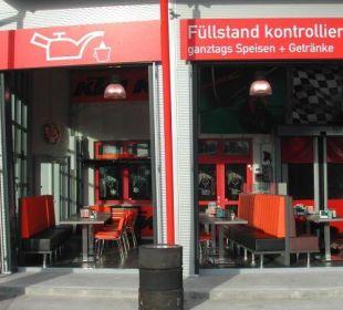 Aussenansicht Restaurant FairSleep Avia Motel Gmünd Mitte