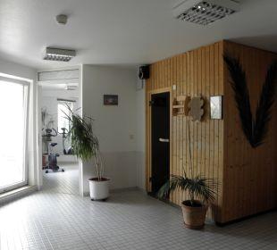 Sauna und Fitnessraum Achat Premium Hotel Neustadt/Weinstraße