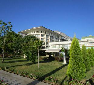 Blick zum Altbau Kilikya Palace Göynük