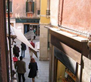 Vue de la chambre Hotel A La Commedia