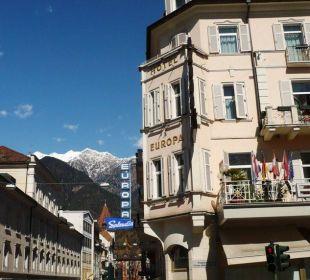 Blick auf das Hotel Europa Splendid vom Theater aus Hotel Europa Splendid