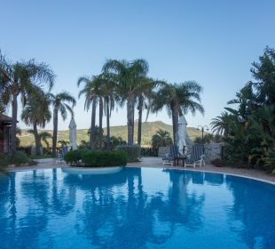 Pool mit Ausblick Hotel Cruccuris Resort