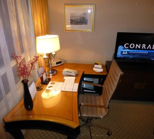 Executive Harbour View Room Nr. 6108 Conrad Hong Kong