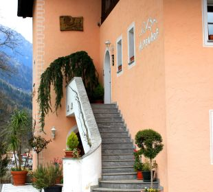 Nebenhaus mit Parkplatz Hotel Alpenhof Passeiertal