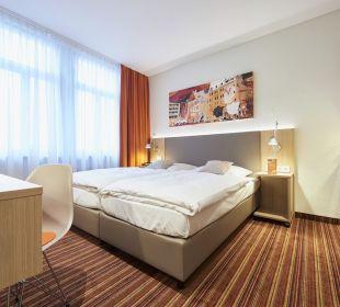 Tradition&Moderne Doppelzimmer Hotel Victoria Nürnberg