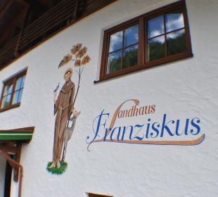 Neue Fassade Landhaus Franziskus