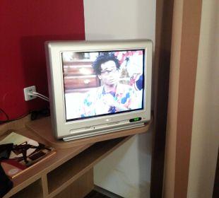 Der TV ist leider sehr klein FairSleep Avia Motel Gmünd Mitte