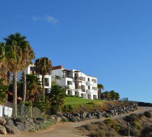 Blick vom Strand auf das Hotel Fuerteventura Princess