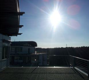 Terrasse Kongresshotel Potsdam am Templiner See