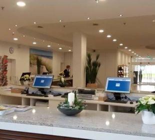 Rezeptionsbereich Carat Golf & Sporthotel Residenz