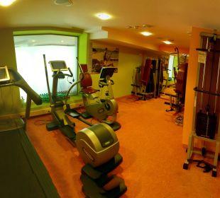 Gut ausgestatteter Fitnessraum Sonnhof Alpendorf