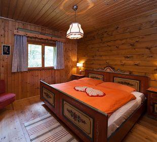 Schlafzimmer 2 Gramegger Hütte