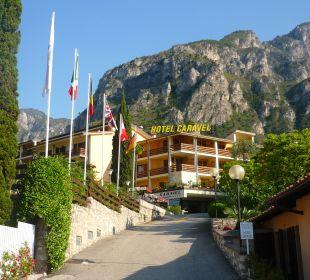 Außenansicht Hotel Caravel