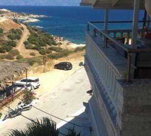 Ausblick vom Balkon Hotel Maistrali