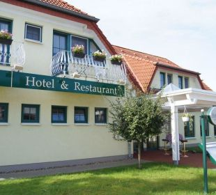 Eingang zum Hotel altGlowe Hotel Garni