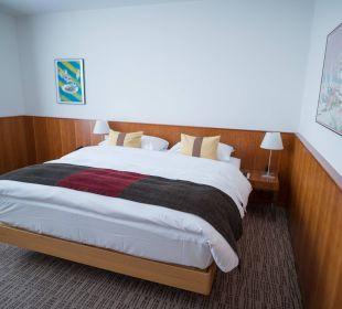 Doppelbett K+K Palais Hotel