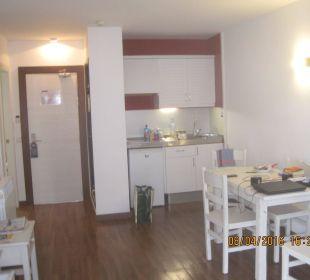 Küche und Sitzbereich Appartments Pabisa Orlando