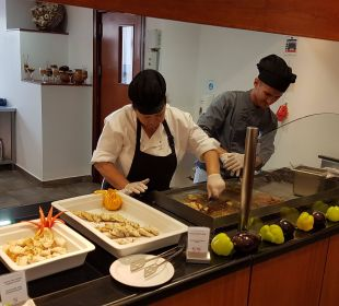 Live cooking FAMILY LIFE Marmari Beach by Atlantica