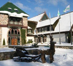 Forsthaus im Winter Hotel Forsthaus Damerow