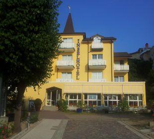 Frontseite Inselhotel Rügen B&B
