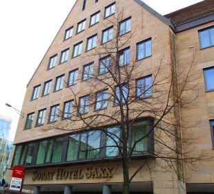 Außenansicht SORAT Hotel Saxx Nürnberg