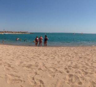 Panoramablick vom Strand