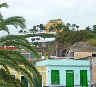 Lage auf dem Plateau Hotel Tigaiga