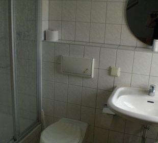 Badezimmer Hotel-Pension Keller