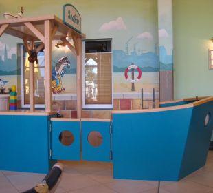 Spielecke im Restaurant