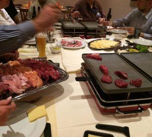 Raclette im Hotel Ladina- für mich: Spitzenklasse  Hotel Ladina