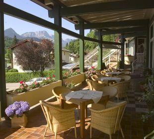 Kaffeeterrasse Alpenhotel Fischer