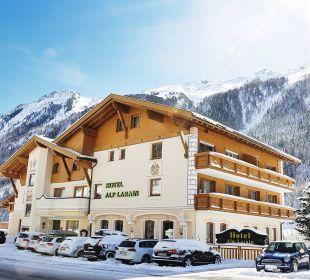 Hotel Alp Larain im Winter Hotel Alp Larain
