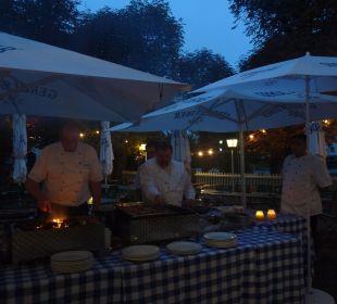 Grillbuffet im Haus 2 Hotel Luitpold am See 1&2