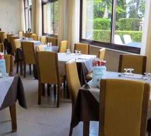 Teil des Speisesaals Hotel Bellavista