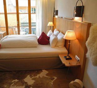 Doppelzimmer mir Charme Hubertus Alpin Lodge & Spa