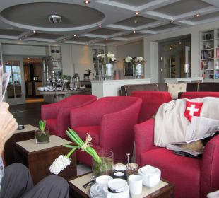 Tea-Time in der Strand-Lounge Strandhotel Ostseeblick