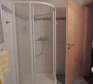 Badezimmer/Duschkabine Hotel Fischerhof Glinzner