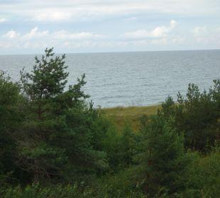 Blick vom Balkon Strandhotel Dünenmeer