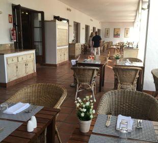 Überdachte Restaurantterrasse Fuerte Conil & Costa Luz Resort