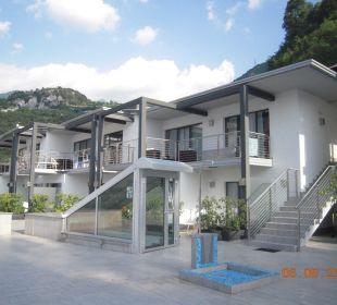 Hotel von der Terrasse aus Hotel Agritur Acetaia Gourmet & Relax