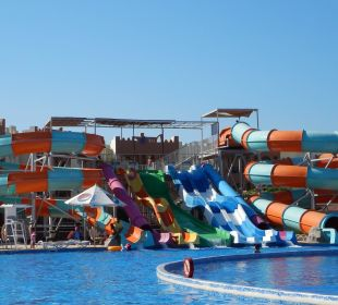 Große Rutschenanlage SUNRISE Select Royal Makadi Resort