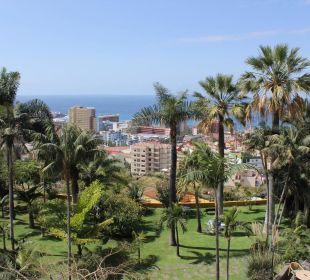 Blick vom Hotel Richtung Puerto de la Cruz Hotel Tigaiga