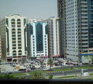 Blick vom Balkon Hotel Holiday International Hotel Holiday International