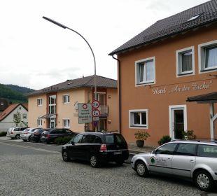 Außenansicht zur Plassenburg Hotel An der Eiche